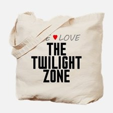 Live Love The Twilight Zone Tote Bag