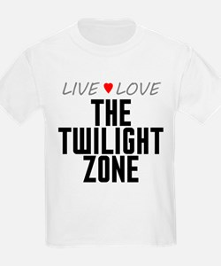 Live Love The Twilight Zone T-Shirt