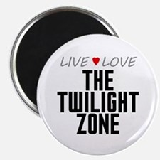 "Live Love The Twilight Zone 2.25"" Magnet (10 pack)"