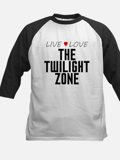 Live Love The Twilight Zone Kids Baseball Jersey
