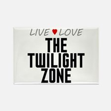 Live Love The Twilight Zone Rectangle Magnet