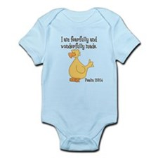 Psalm 139:14 Duck Body Suit