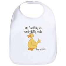 Psalm 139:14 Duck Bib