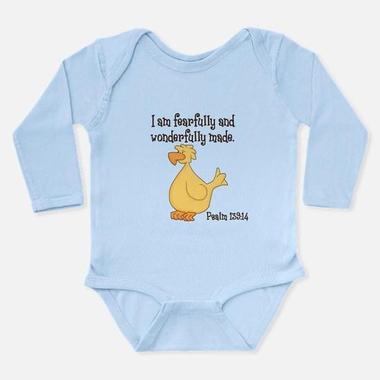 Psalm 139:14 Duck Body Suit