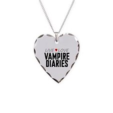 Live Love Vampire Diaries Necklace