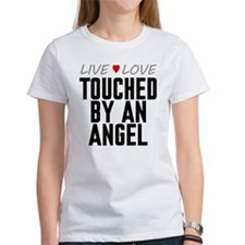 Live Love Touched by an Angel Tee