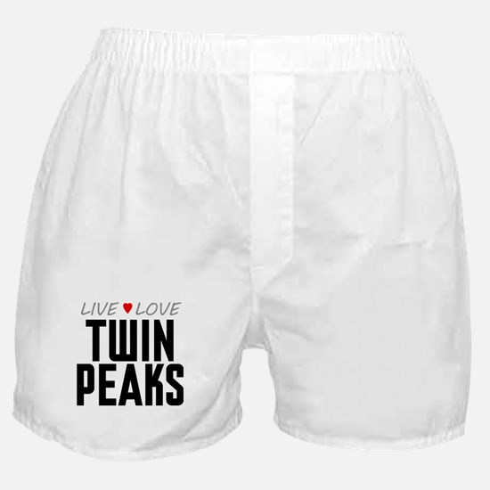 Live Love Twin Peaks Boxer Shorts