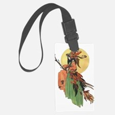 autumn witch Luggage Tag
