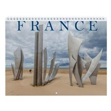 Fascinating France Wall Calendar
