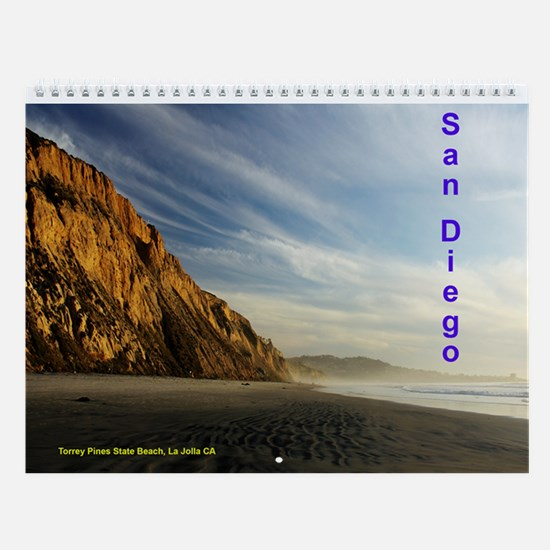 More San Diego County Sights Wall Calendar