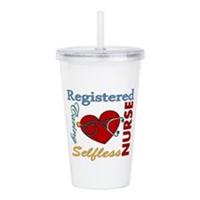Registered Nurse Acrylic Double-wall Tumbler