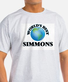 World's Best Simmons T-Shirt