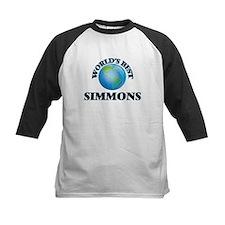 World's Best Simmons Baseball Jersey