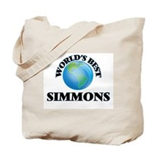 World's Best Simmons Tote Bag