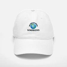 World's Best Simmons Baseball Baseball Cap