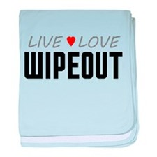 Live Love Wipeout Infant Blanket