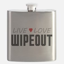 Live Love Wipeout Flask