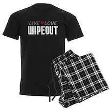 Live Love Wipeout pajamas