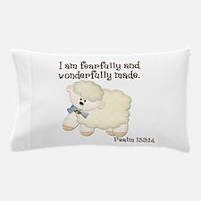 Wonderfully Made Sheep Pillow Case