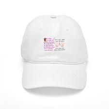 Breast Cancer Think Pink Duo Baseball Cap