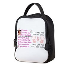 Breast Cancer Think Pink Duo Neoprene Lunch Bag