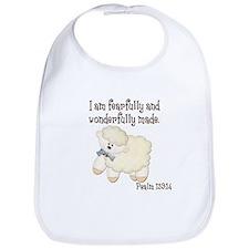 Wonderfully Made Sheep Bib