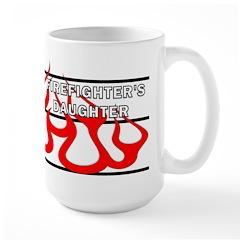 Firefighters Daughter Mug