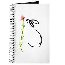 single pink flower Journal