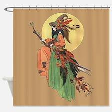 autumn witch Shower Curtain