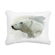 Cute Polar Rectangular Canvas Pillow