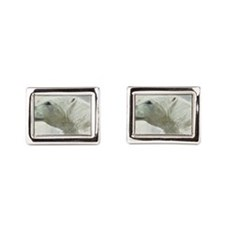 Unique Digital Rectangular Cufflinks