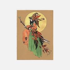 autumn witch 5'x7'Area Rug