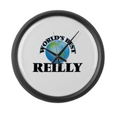 World's Best Reilly Large Wall Clock