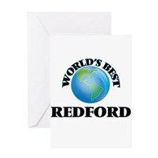 World's Best Redford Greeting Cards