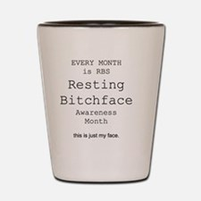 Bitchface Shot Glass