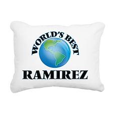 World's Best Ramirez Rectangular Canvas Pillow