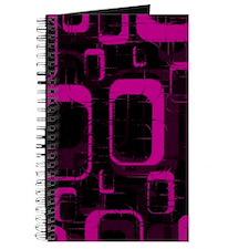 Pink and Black Grunge Journal