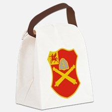 10 Field Artillery Regiment.psd.p Canvas Lunch Bag