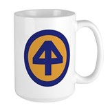 44th infantry Large Mugs (15 oz)