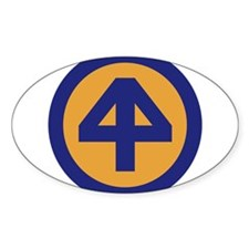 44th Infantry Division Decal