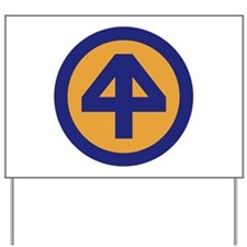 44th Infantry Division.png Yard Sign