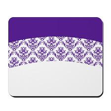 Purple Lace Mousepad
