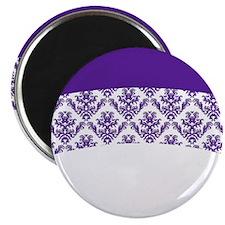 Purple Lace Magnet