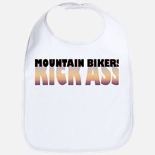 Mountain Bikers Kick Ass Bib