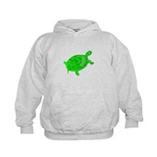 Green Turtle Hoody