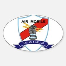 117th Assault Helicopter Co Decal