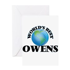 World's Best Owens Greeting Cards
