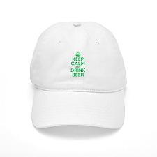Keep Calm and Drink Beer Baseball Baseball Cap