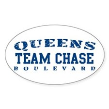 Team Chase - Queens Blvd Oval Decal