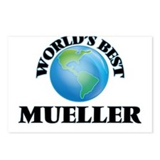 World's Best Mueller Postcards (Package of 8)